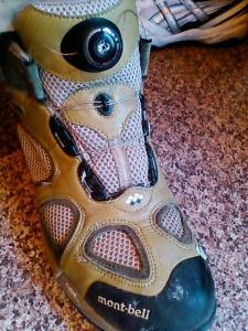 阿部君の靴