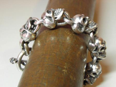 gabor.skull,bracelet