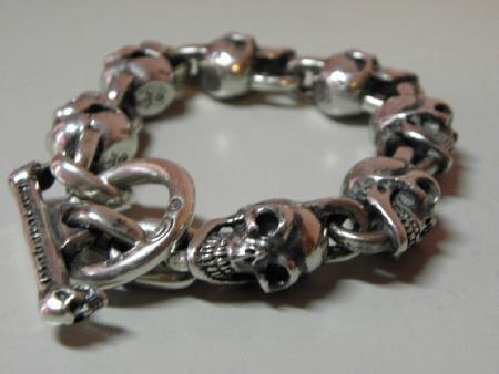 gaboratory.skull,bracelet