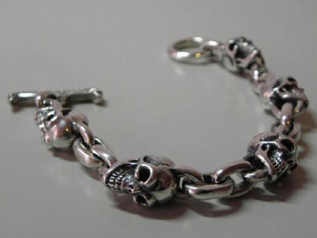 gabor,skull,bracelet