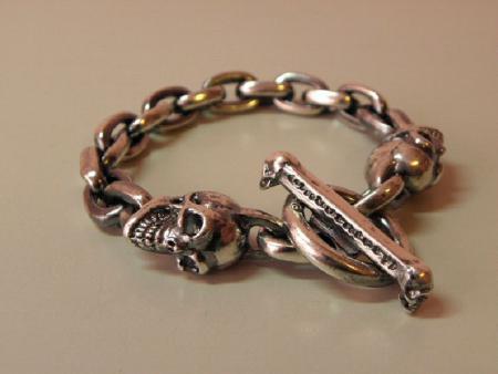 Gaboratory,Skull,Chain,Bracelet