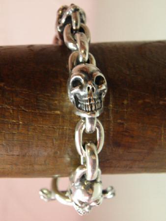 gaboratory,skull,bracelet