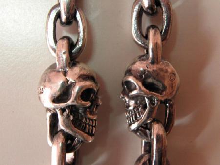 gabor,skull,chain,bracelet