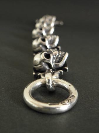 Gabor,Skull,Iron Cross,Bracelet
