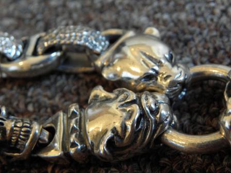 Gaboratory,LoganRiese,Silver,Leather,Bracelet