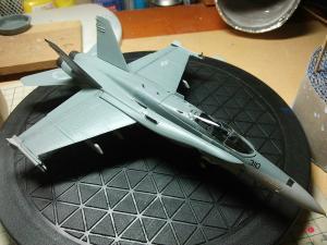 F/A-18 ホーネット 製作中!