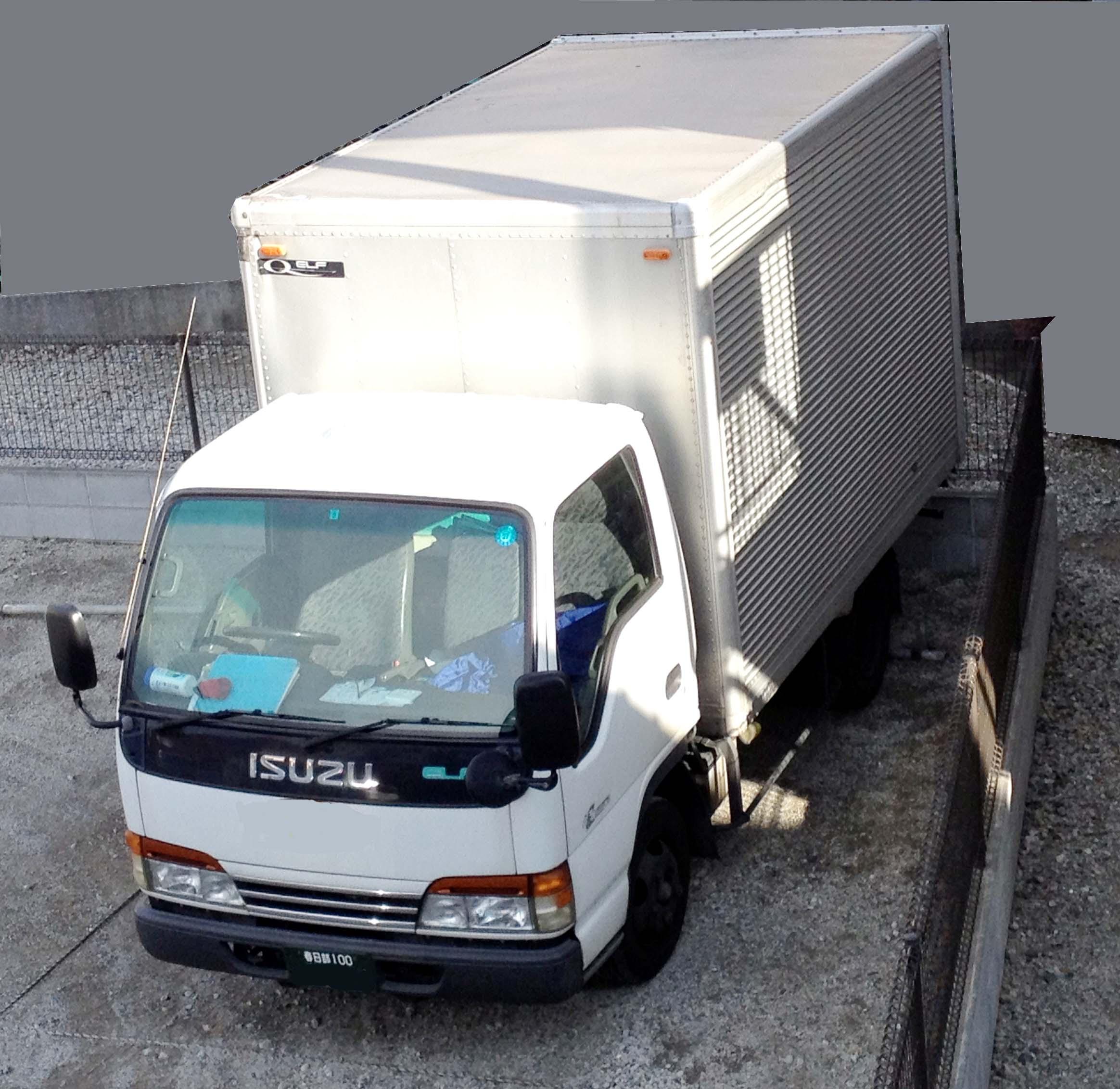 覆面車 いすゞエルフ KK-NKR66