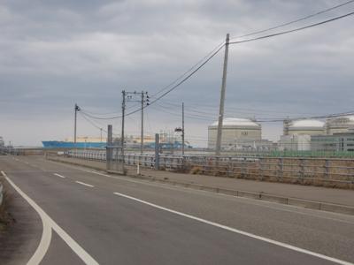 火力発電所タンカー