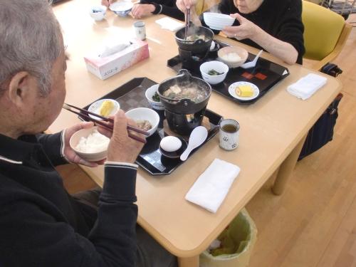 20131227 戸田川 デイすき焼き2