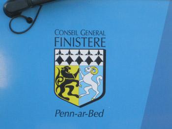 フィニステール県の紋章