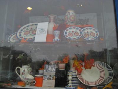 カンペール焼の陶器