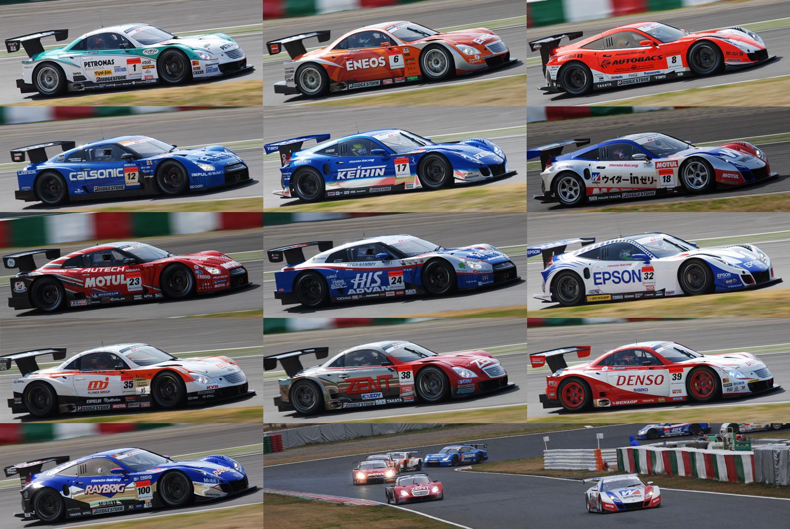 カレンダー 2010年11月 カレンダー : Japan Super GT GT500