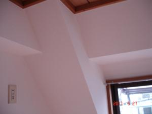 和室から洋間へ、壁紙張替後(クロス張替後)