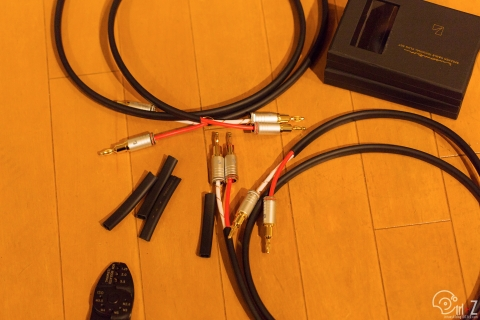 LUXMAN スピーカーケーブル JPS-100 バナナプラグ JPB-10
