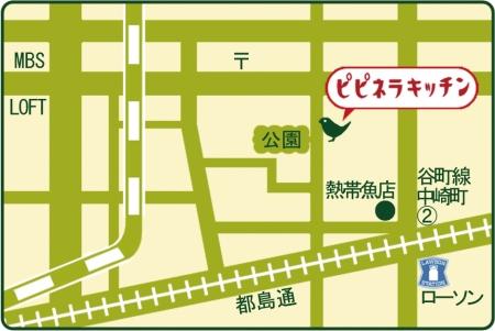 ピピネラキッチン地図