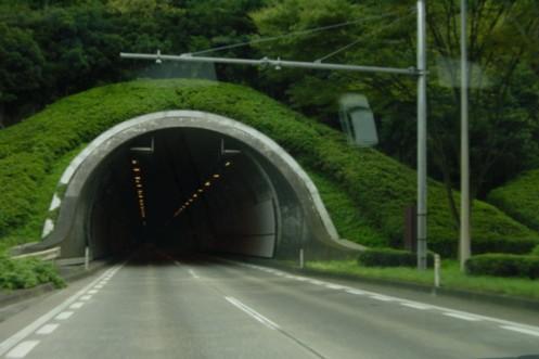 青葉山トンネル|toki no sizuku