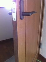 室内ドア 鍵取付け 前