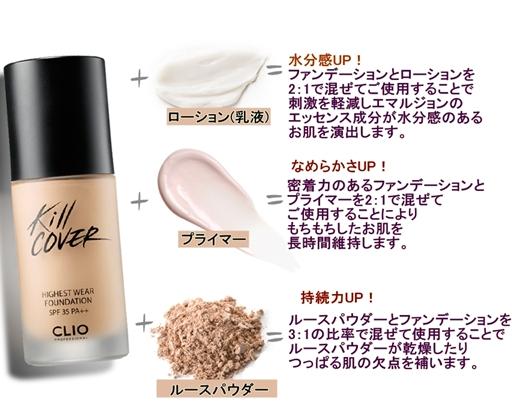 【CLIO】killcover