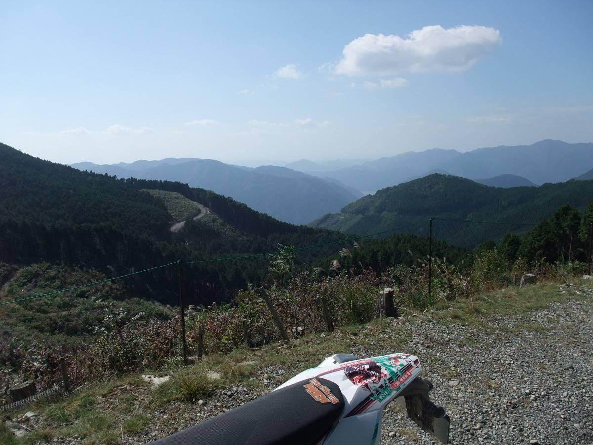 岡ノ上林道と岡城林道