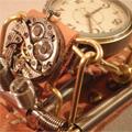 スチームパンク腕時計