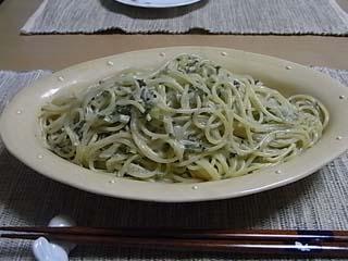 野沢菜ジャコスパ2