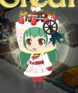 2013/12/25 まどか☆マギカオンライン 自キャラの格好