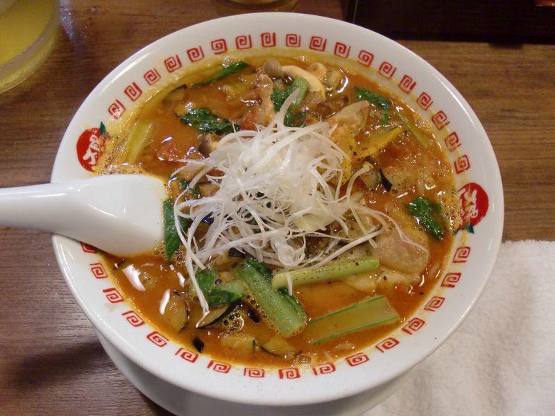 太陽のトマト麺@豊洲・カボチャ麺