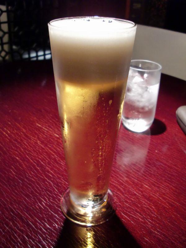 過門香@銀座一丁目・ビール