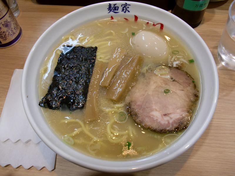 いし川@内幸町・味玉ら~麺