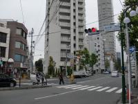 灯花@四谷三丁目・塩つけ麺・交差点