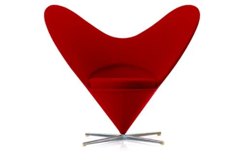 Heart Cone Chair(ハートコーンチェア)Verner Panton(ヴェルナー・パントン)Vitra(ヴィトラ)