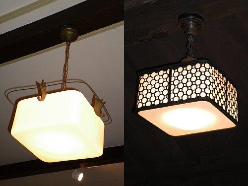 林芙美子邸・照明
