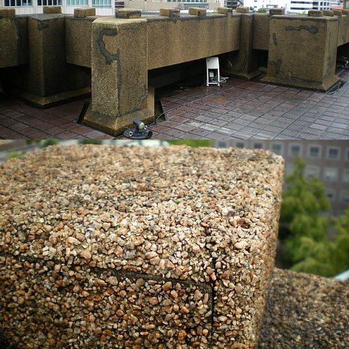 神奈川県庁舎・屋上2
