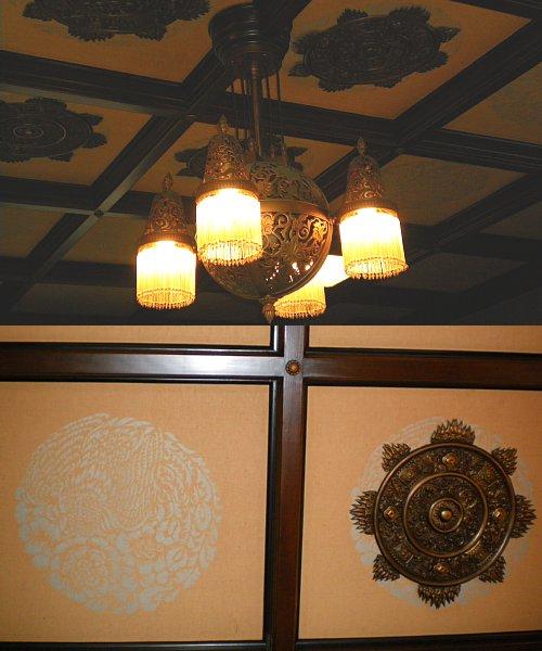 神奈川県庁舎・貴賓室天井
