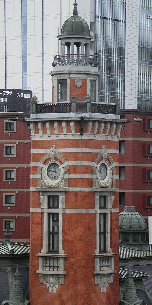 横浜市開港記念会館・時計塔