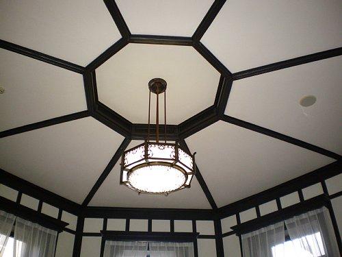 横浜市開港記念会館・特別室天井