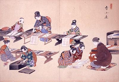 寺子屋の図