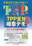 TPPデモちらし