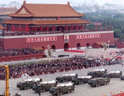 Chinaの軍拡
