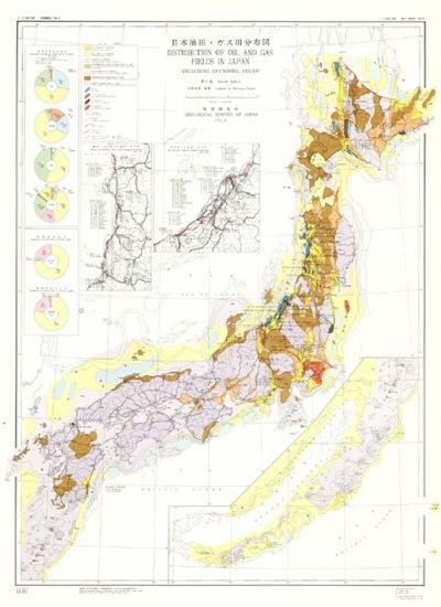 日本油田ガス田マップ