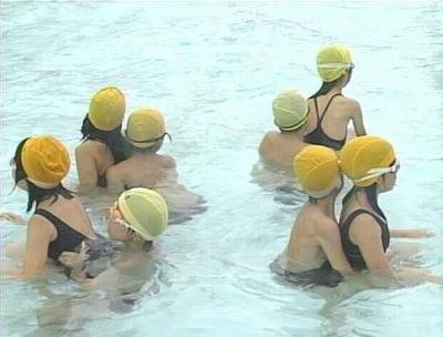 水泳の授業