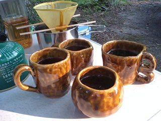 山のコーヒー