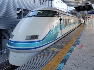 東武鉄道 100系 スペーシア 特急「きぬ」 『粋』仕様