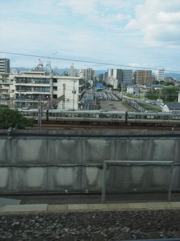 間もなく京都駅