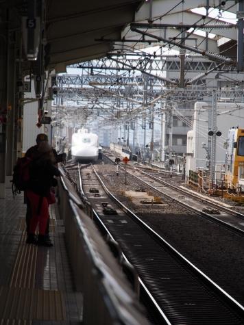 京都駅 新幹線ホーム