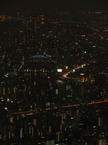 隅田川 永代橋・清洲橋【東京スカイツリーより】