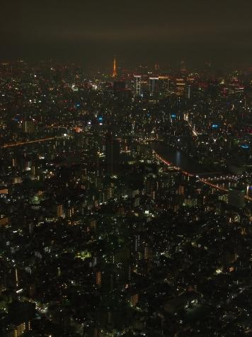 東京タワー方向【東京スカイツリーより】