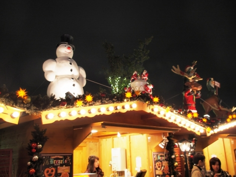 ソラマチ クリスマスマーケット2014