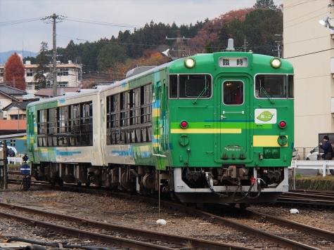 JR東日本 キハ48系 気動車 【快速】風っこ水郡80周年号