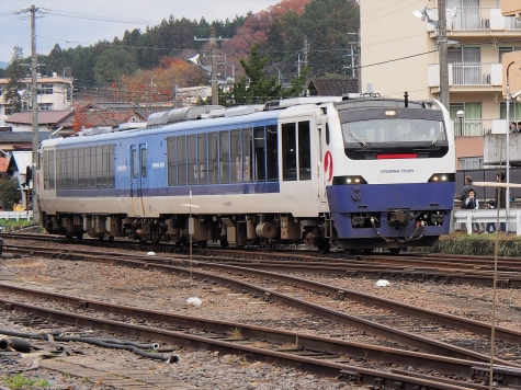JR東日本 キハ48系 気動車 【快速】リゾート水郡80周年号